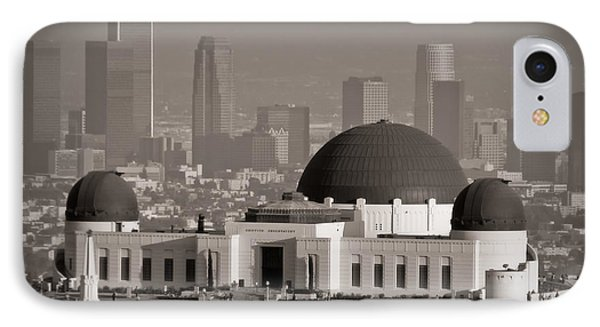 Griffith Observatory Phone Case by Adam Romanowicz
