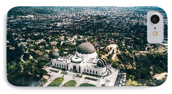 Griffith Observatory And Dtla IPhone 7 Case