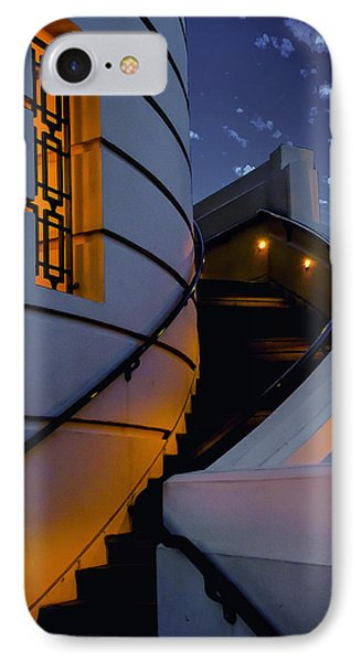 Griffith Observatory Side Entrance IPhone Case by Joseph Hollingsworth