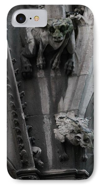 IPhone Case featuring the photograph Griffons by Christopher Kirby