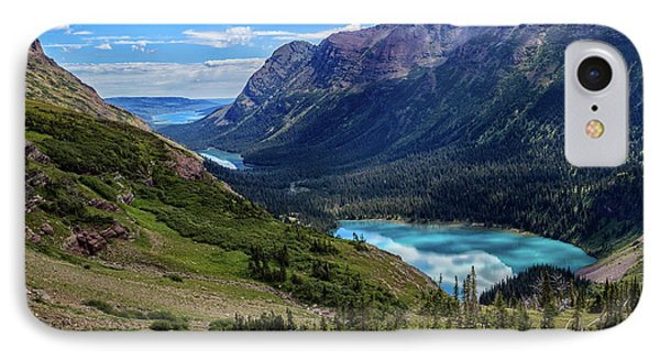Grinell Hike In Glacier National Park IPhone Case