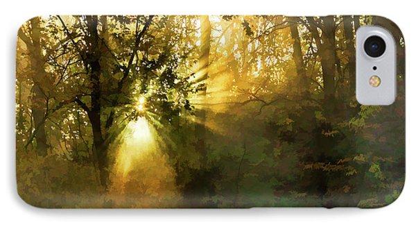 Grings Mill Fog 15-039 IPhone Case by Scott McAllister