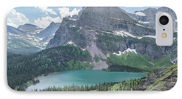 Grinnell Lake From Afar IPhone Case