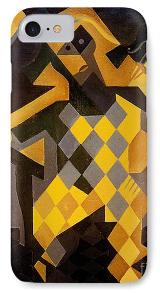 Gris: Harlequin Phone Case by Granger