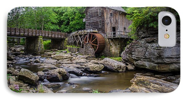 Grist Mill IPhone Case by Brad Monahan