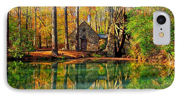 Grist Mill IPhone Case by Geraldine DeBoer