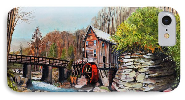 Grist Mill IPhone Case by Jackie Bryant