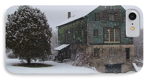 Grist Mill Of Port Hope IPhone Case by Davandra Cribbie