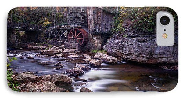 Grist Mill On Glade Creek IPhone Case by Jim Archer