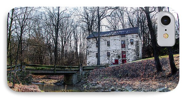 Grist Mill On Yellowsprings Rd Chester County Pa IPhone Case by Bill Cannon