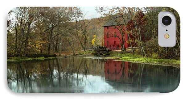 Grist Mill Wreflections IPhone Case
