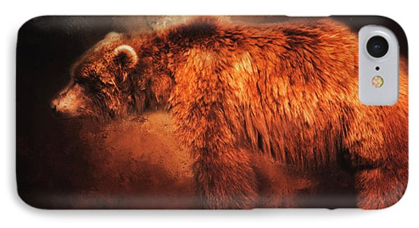 IPhone Case featuring the photograph Grizzly Bear  by Toni Hopper