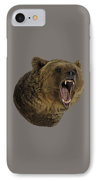 Grizzly Bear IPhone Case by Wildlife Fine Art