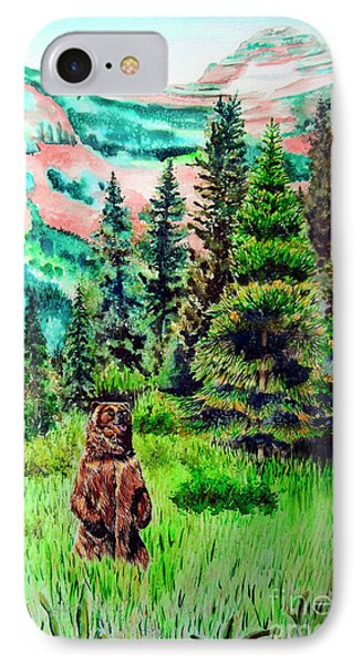 Grizzly Country Phone Case by Tracy Rose Moyers