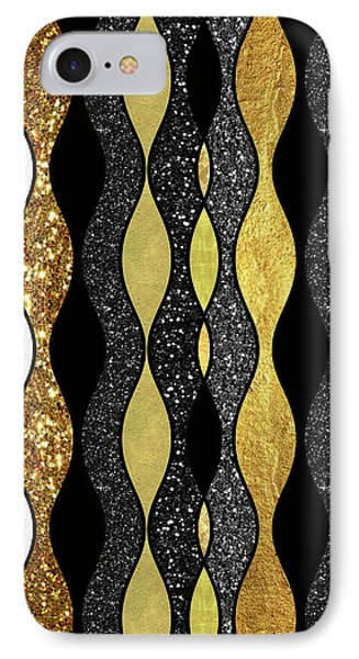 Groovy, Baby Modern Take On A Retro 1960s Design IPhone 7 Case by Tina Lavoie