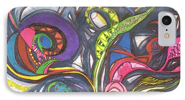 Groovy Series IPhone Case by Chrisann Ellis