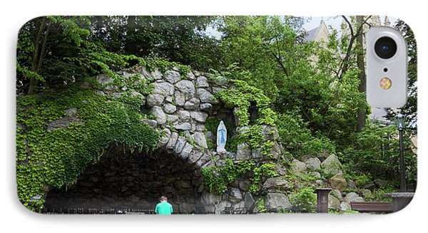 Grotto Of Our Lady Of Lourdes IPhone Case
