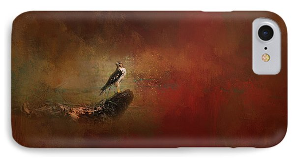 Ground Level Red Tailed Hawk Art IPhone Case by Jai Johnson