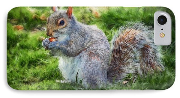 IPhone Case featuring the photograph Ground Squirrel by Pennie  McCracken