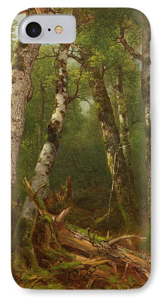 Group Of Trees Phone Case by Asher Brown Durand