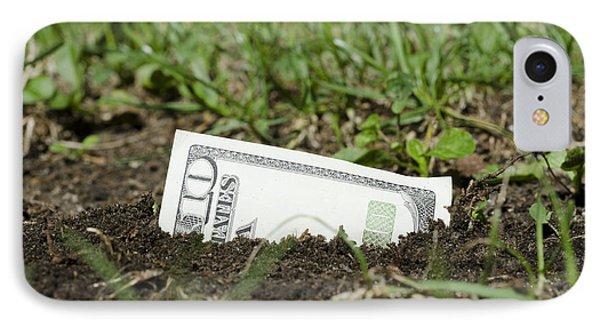 Growing Money Phone Case by Mats Silvan