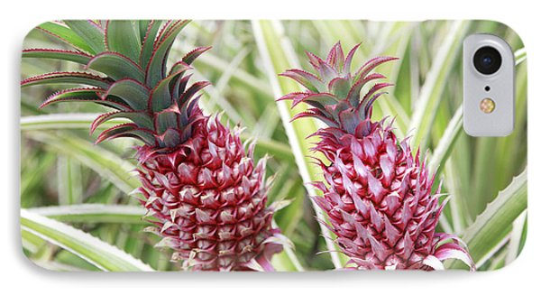 Growing Red Pineapples Phone Case by Brandon Tabiolo - Printscapes