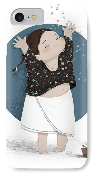 Growing Sprouts IPhone Case by Soosh