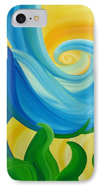 IPhone Case featuring the painting Growth by Ginny Gaura