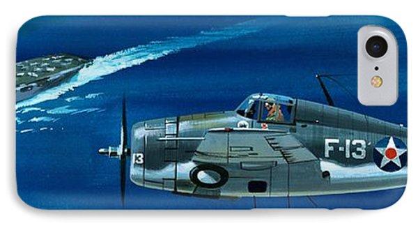 Grumman F4rf-3 Wildcat IPhone Case by Wilf Hardy