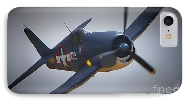 Grumman F6f Hellcat K-29 IPhone Case