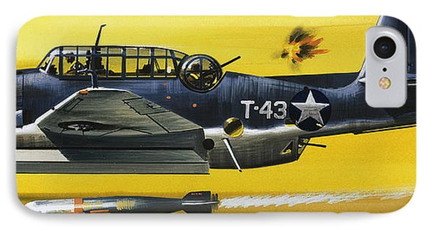 Grummen Tbf1 Avenger Bomber IPhone Case by Wilf Hardy