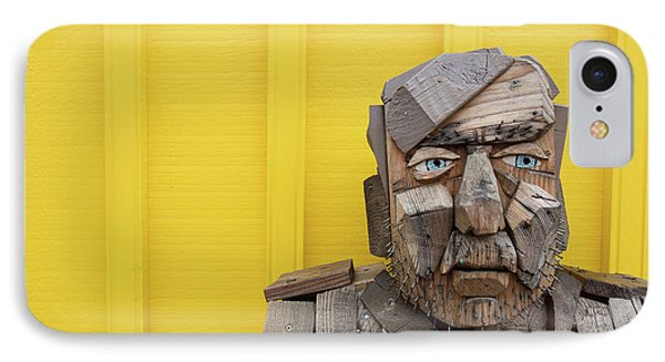 IPhone Case featuring the photograph Grumpy Old Man by Edward Fielding