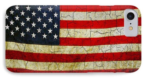 Grunge American Flag  IPhone Case