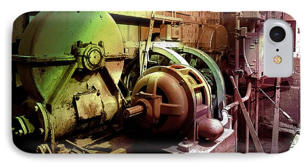 IPhone Case featuring the photograph Grunge Hydroelectric Plant by Robert G Kernodle