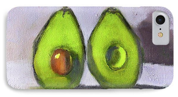 IPhone Case featuring the painting Guacamole by Nancy Merkle