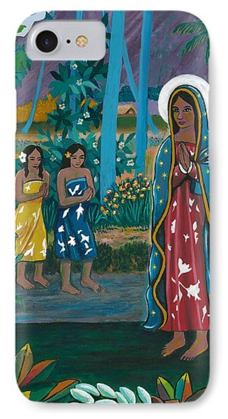 Guadalupe Visits Gauguin IPhone Case