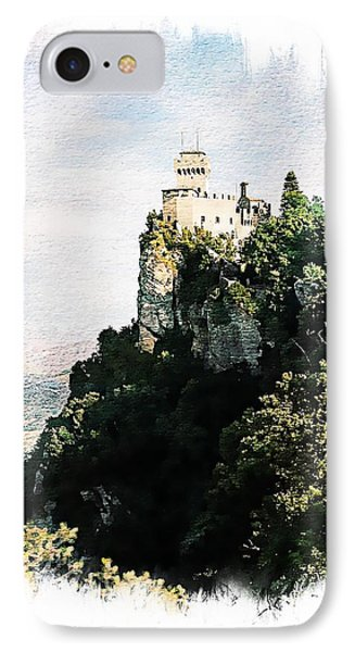 IPhone Case featuring the photograph Guaita Castle Fortress by Joseph Hendrix