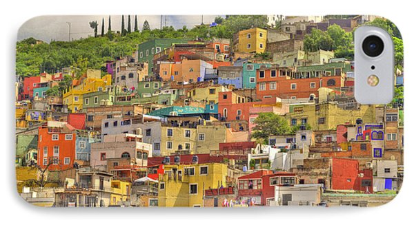 Guanajuato Hillside IPhone Case by Juli Scalzi