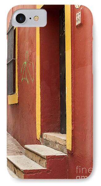 Guanajuato Mexico Colorful Building IPhone Case by Juli Scalzi
