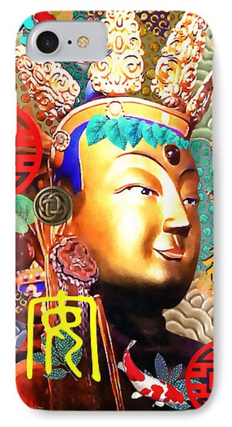 Guanyin IPhone Case by Stacey Chiew