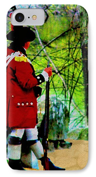 Guard Duty IPhone Case by Cliff Wilson
