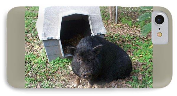 Guard Hog IPhone Case by Seaux-N-Seau Soileau