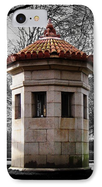Guardhouse In Prospect Park Brooklyn Ny IPhone Case
