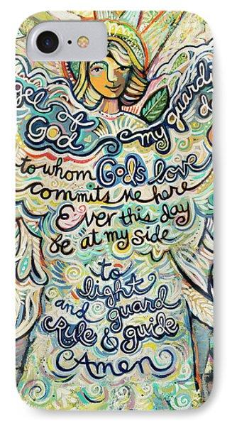 Guardian Angel IPhone Case by Jen Norton