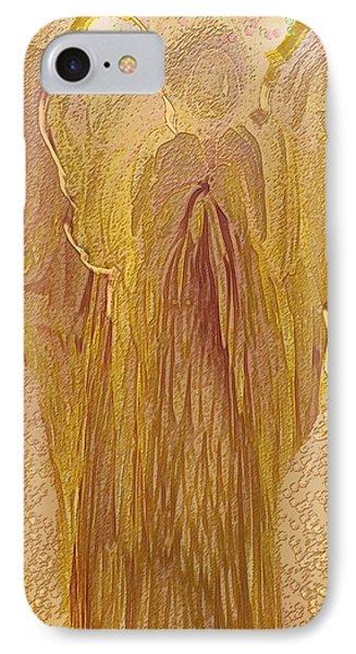 Guardian Angel Phone Case by Linda Sannuti