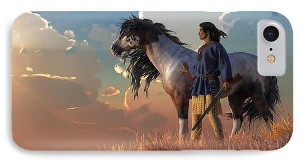 Guardians Of The Plains IPhone Case by Daniel Eskridge