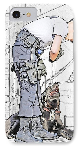 Guarding The City IPhone Case by Francesa Miller