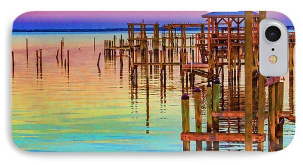 Guarding The Dock IPhone Case by Roberta Byram