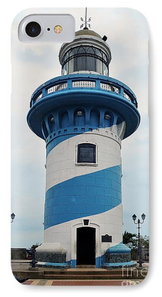 Guayaquil Lighthouse IPhone Case by Catherine Sherman