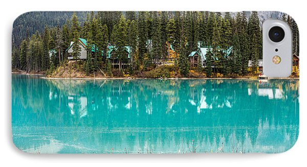 IPhone Case featuring the photograph Emerald Lake by Pierre Leclerc Photography